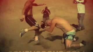 getlinkyoutube.com-FELONY FIGHTS 7 - Sapo (Mexican) VS. Travis (White)