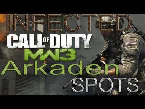 *BEST* 2 Arkaden Infected Spots II MW3 Glitches/Spots II Tutorial