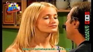 """getlinkyoutube.com-Julieta Prandi la nena el beso con Don Arturo """" Pone a Francella """" Capitulo 6"""