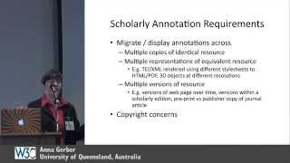 getlinkyoutube.com-Supporting Web-based Scholarly Annotation ~ Anna Gerber @ W3C Web Annotations Workshop
