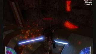 getlinkyoutube.com-Star wars Kotf: Episode 3 Anakin vs Obi wan