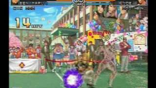 getlinkyoutube.com-KOF 2002 UM Japan Team death combo movie