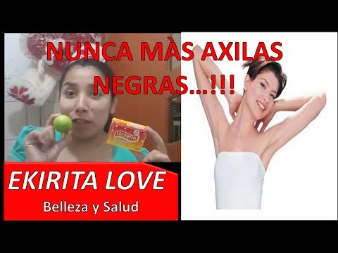 ACLARA AXILAS NEGRAS CON LIMON Y BICARBONATO - Ekirita Love