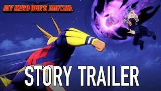 My Hero One's Justice - Sztori Trailer