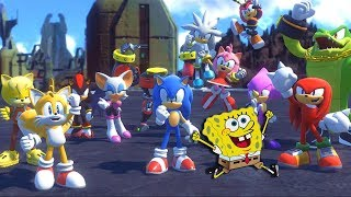 O FINAL PERFEITO | BoB Esponja no Sonic Forces