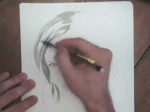 A little portrait of Charlize Theron drawingomme.free.fr
