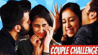 getlinkyoutube.com-INSANE COUPLE CHALLENGE Feat. Hasley India ( Harsh Beniwal and Pratishtha )
