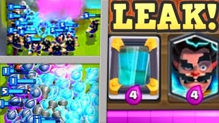 getlinkyoutube.com-NEW LEAKED ELECTRO WIZARD + CLONE SPELL | Clash Royale NEW LEGENDARY CARD UPDATE + GAMEPLAY PHOTOS