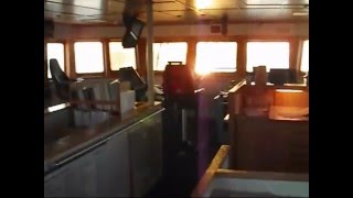 getlinkyoutube.com-Platform Supply Ship Discharging Cargo at Oil Rig