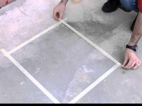 Come colorare cemento