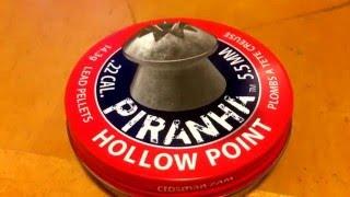 getlinkyoutube.com-Crosman Piranha Hollowpoint Pellets (.22)