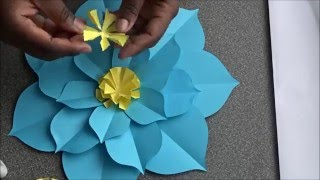 getlinkyoutube.com-How To Make A pointy petals Flower