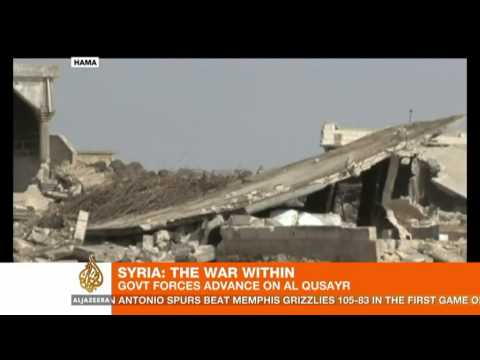 Syrian government forces enter Qusayr
