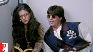Raj & Simran - Train Scene | Shah Rukh Khan | Kajol width=