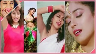 Madhuri dixit hot compilation of navel & seductive expressions lll