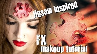 getlinkyoutube.com-Missing Puzzle Piece FX Makeup Tutorial