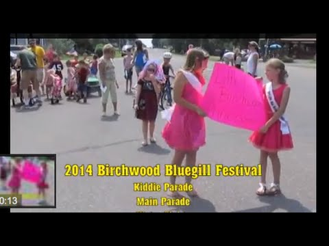 2014 Birchwood Bluegill Festival Parade and Water Fights
