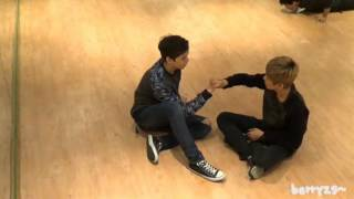 getlinkyoutube.com-131018 SEVENTEEN TV Wonwoo,Chan,Hansol Cute