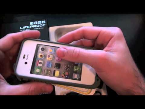 LifeProof  iPhone 4&4S Case Unboxing