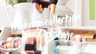 getlinkyoutube.com-♡Makeup Collection and Storage♡
