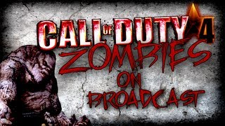 getlinkyoutube.com-Cod 4 Mods: Outlaw Chaos Zombies on Broadcast (Live Commentary/Gameplay)