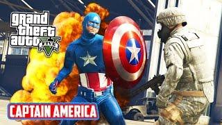 getlinkyoutube.com-GTA 5 PC Mods - CAPTAIN AMERICA MOD!!! GTA 5 Captain America Mod Gameplay! (GTA 5 Mods Gameplay)