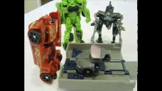 getlinkyoutube.com-Transformer ROTF Sideways legends class stop motion(audi r8 commercial)