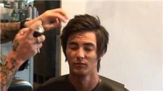 getlinkyoutube.com-Hair Care for Men : How to Style Medium Hair for Men