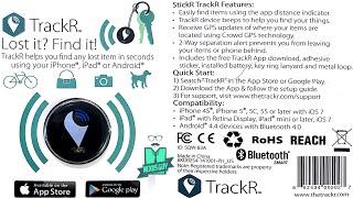 فتح صندوق ومعاينة جهاز StickR TrackR | تتبع أشيائك