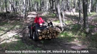 Wildhare ATV Front Loader System Exclusively distributed by AMIA in the UK, Ireland & Europe