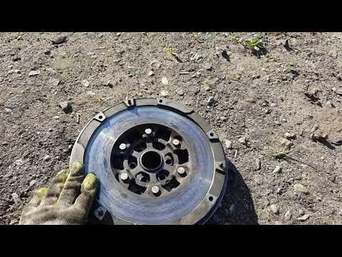 Замена двухмассового маховика и сцепления на Opel Vectra C 2.2 бензин