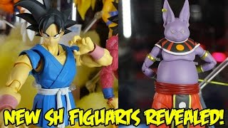 getlinkyoutube.com-New Dragon Ball Z SH Figuarts Revealed! GT Goku, Champa, Whis, Vados, Super Saiyan God Goku, & More!