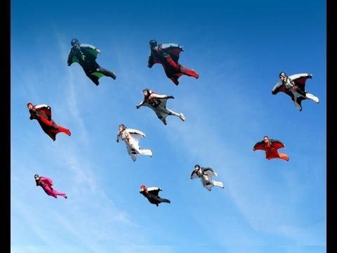 Planet Earth: Extreme nature scenery wingsuit vision (1080p HD)