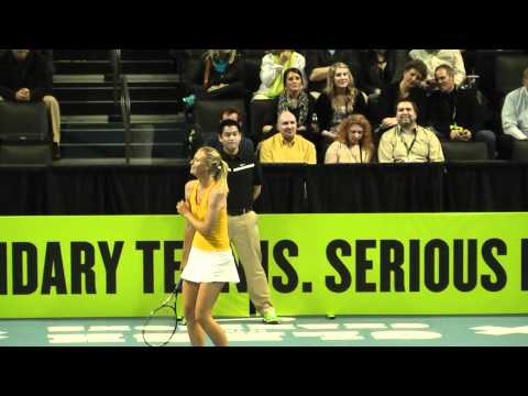 Nike Clash of The Champions (Federer, Nadal, McEnroe, Sharapova, Azarenka) Full Video Part 1 of 2