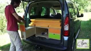 getlinkyoutube.com-Amenagement de véhicule : Campin box