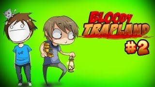 getlinkyoutube.com-THE FURRY ADVENTURES CONTINUES! :D - Pewds & Cry Plays: Bloody Trapland - Part 2