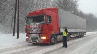 getlinkyoutube.com-A havazás miatt terelik a kamionforgalmat a 86-os főúton
