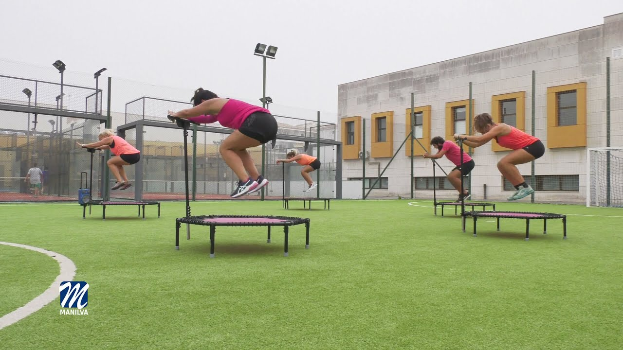 El viernes podrán practicar Jumping Fitness gratuitamente