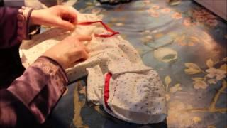 getlinkyoutube.com-خياطة ثوب الطفل الوليد  - الجزء الثالث -