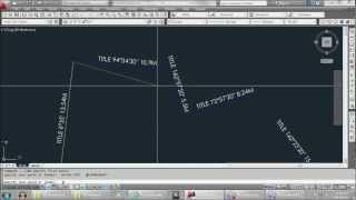 getlinkyoutube.com-AutoCAD Tutorial - How to draw Site Title Boundary