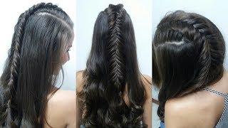 getlinkyoutube.com-Peinado con Trenza Espiga de Raiz y Ondas - Belleza sin Limites