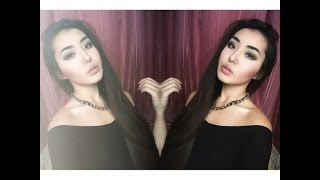getlinkyoutube.com-как увеличить глаза   вечерний макияж   азиатские глаза