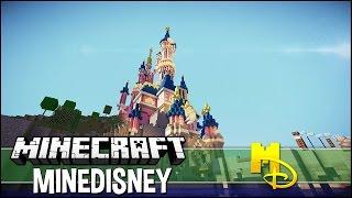 getlinkyoutube.com-Minecraft: Minedisney - Visite de Disneyland Paris