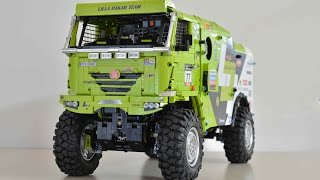 getlinkyoutube.com-Lego Technic MOC Tatra Dakar Truck 4x4