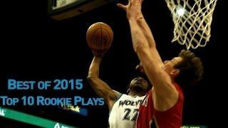 getlinkyoutube.com-Top 10 Rookie Plays of 2015