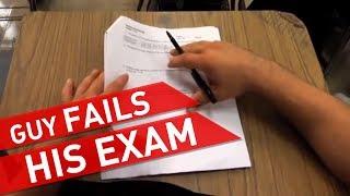 Failing a Test width=
