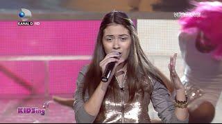 getlinkyoutube.com-Letitia Roman canta Chandelier - Finala - KIDSing 2014