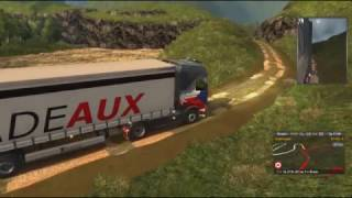 Euro Truck Simulator 2 Южная Корея (горы)