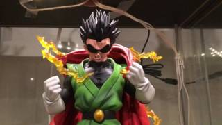 getlinkyoutube.com-Dragonball Z Xceed Saiyaman Man resin statue