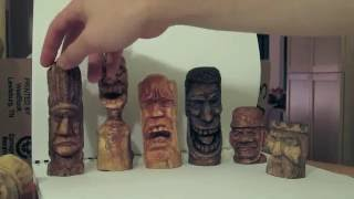 getlinkyoutube.com-Some of my Woodcarvings from over the years.